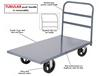 RUGGED STEEL DECK PLATFORM TRUCK